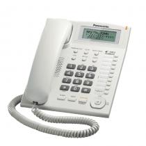 Panasonic Corded Phone DECT, 50 station caller ID memory, White - KXTS880MXW
