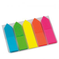 Info Notes, Page Marker, Index Neon Arow, Pack of 6