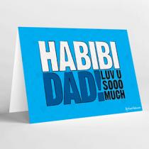 Mukagraf, Habibi Dad, Greeting Card