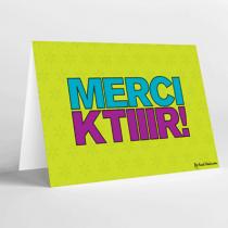 Mukagraf, Merci Ktiir, Greeting Card